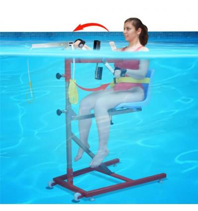Aquaexercise for upper members