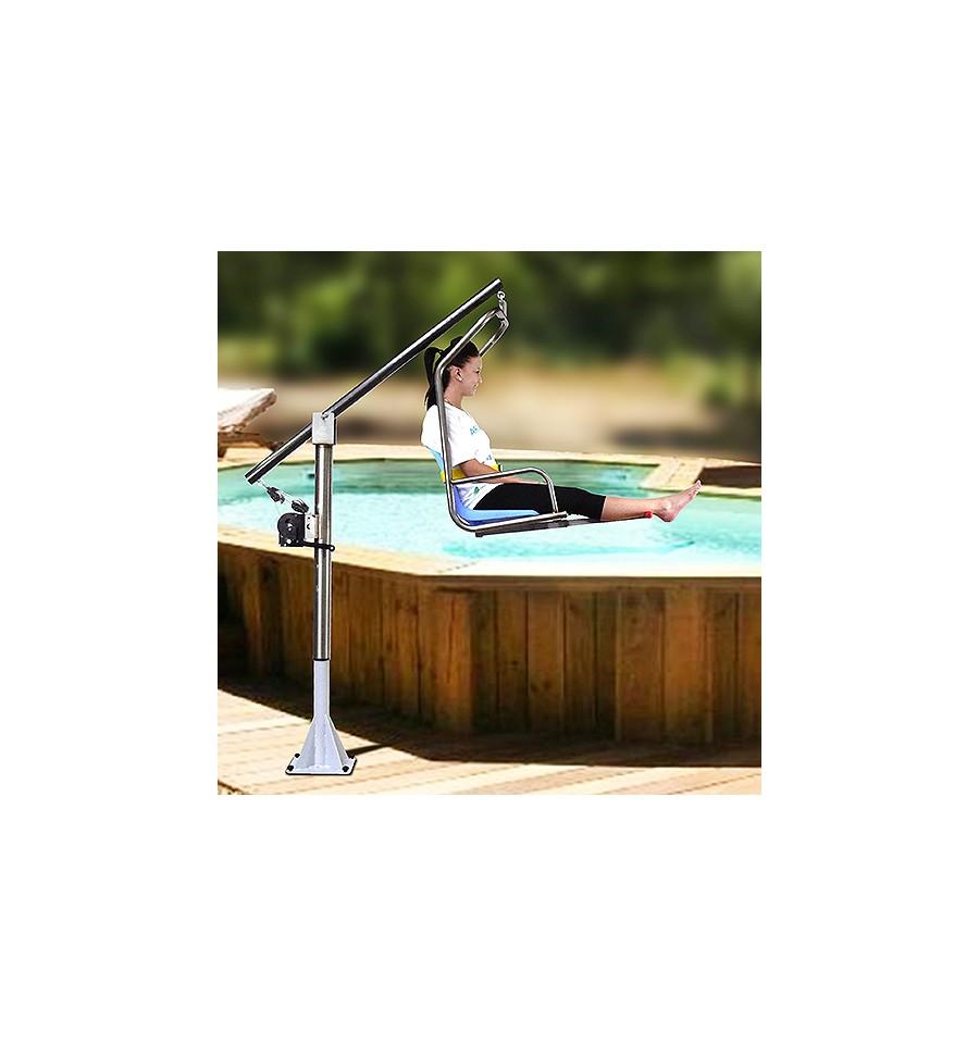 L ve personne pmr sp cial pour piscine et spa hors sol - Piscine pour personne handicapee ...