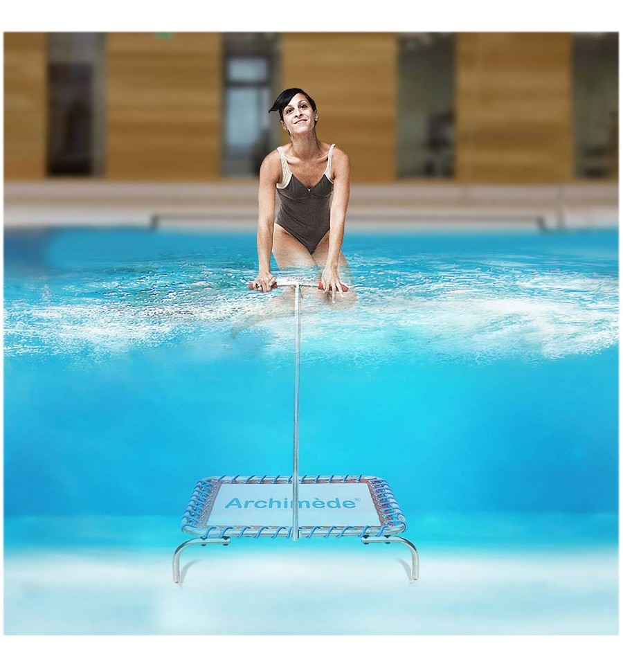 Trampoline de piscine aquafitness for Trampoline piscine
