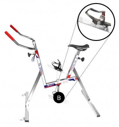 Vélo Aquabike DELTA avec Cale Pied