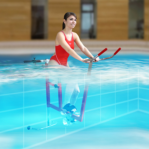 Aquabike Clem for deep pools